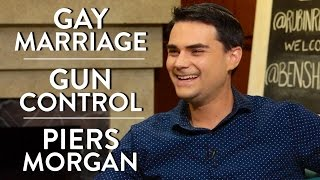 Download Ben Shapiro on Gay Marriage, Gun Control, and Piers Morgan Video