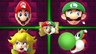 Download Mario Party 2 MiniGames - Peach Vs Mario Vs Luigi Vs Yoshi (Master Cpu) Video