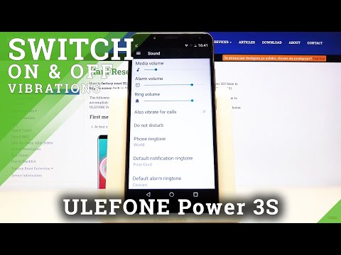 How to Find Vibration Settings in Ulefone Power 3S – Turn On / Off Vibrations