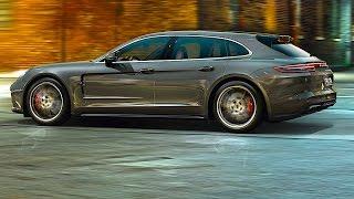 Download Porsche Panamera Sport Turismo Driving 2018 World Premiere New Porsche Panamera Shooting Brake Video