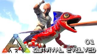 Download ARK: SURVIVAL EVOLVED - NEW EPIC START JOURNEY BEGINS E01 !!! ( PUGNACIA PARADOS ) Video