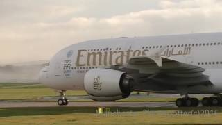 Download Plane Spotting At (MAN) Manchester Airport (EGCC) On The 18/11/2016 Video