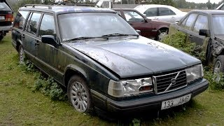Download Starting 1997 Volvo 940 2.3 Turbo After 7 Years Video