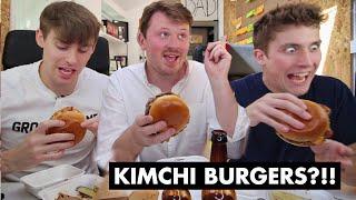 Download BRITISH ″KIMCHEESE″ BURGER?! Video