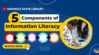 Download 5 Components of Information Literacy Video