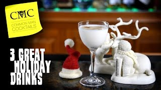 Download 3 Holiday Drinks For December ⛄ Christmas, Hanukkah, Kwanzaa & More Video