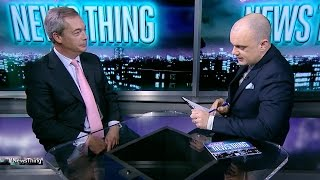 Download Nigel Farage interviews for the US ambassador job - News Thing Video