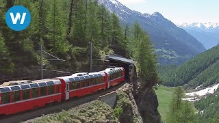 Download World's Most Beautiful Railway - The Bernina Express Video