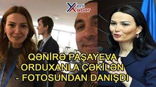 Download QƏNİRƏ PAŞAYEVA ORDUXANLA ÇƏKİLƏN - FOTOSUNDAN DANIŞDI Video