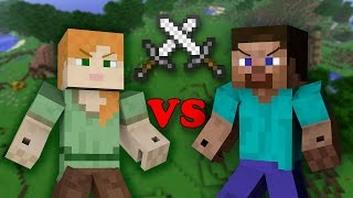 Download Alex VS Steve - Minecraft Video