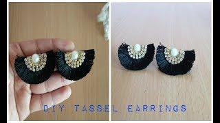 Download DIY Tassel Earrings II Handmade Silk thread Tassel Earrings Video