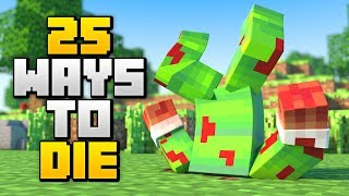 Download 25 BRUTAL WAYS TO DIE IN MINECRAFT! Video