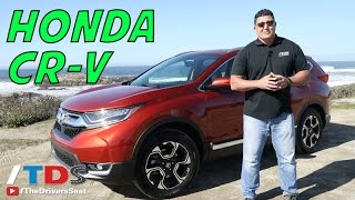 Download 2017 Honda CR V First Drive and Review Video