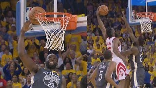 Download James Harden Dunks on Draymond! Game 4 2-2! 2018 NBA Playoffs Video
