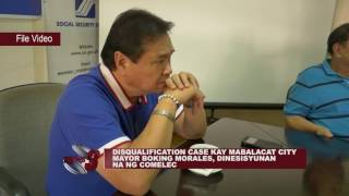 Download DISQUALIFICATION CASE KAY MABALACAT CITY MAYOR BOKING MORALES, DINESISYUNAN NA NG COMELEC Video