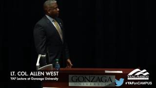 Download Allen West responds perfectly to campus leftist's question on Islam Video