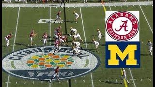 Download Michigan vs Alabama Football Bowl Game 1 1 2020 Video
