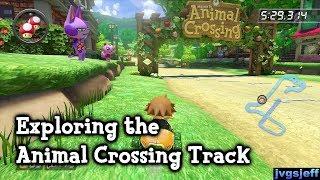 Download Mario Kart 8 - Exploring the Animal Crossing Track Video