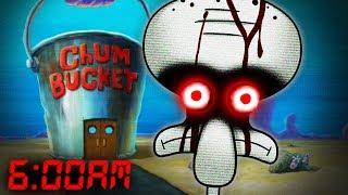 Download 6AM AT THE CHUM BUCKET 💀 (SPONGEBOB HORROR) Video