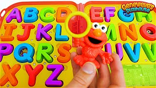 Download Kids, help Elmo find all of the Missing Letters so we can Spell Words! Video