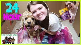 Download 24 Hours In Box Fort Dog Mansion🐶🏠 / That YouTub3 Family Video