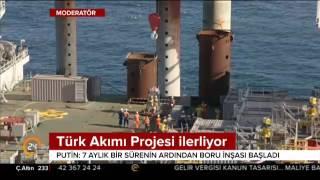 Download Putin, Rusya'nın Karadeniz kıyındaki Türk akımı çalışmalarını inceledi Video
