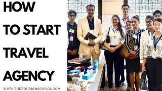 Download How to start Travel Agency Free of Cost without any Investment/How to start travel agency in India Video