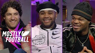 Download Adam Pally, Kevin Gates and Emmanuel Hudson Chop It Up On The MF Season Finale | Mostly Football Video