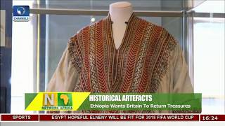 Download Ethiopia Wants Britain To Return Historical Artifacts |Network Africa| Video
