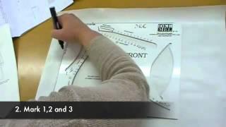 Download etek ve bluz kalıp çizimi örnek 1 - Video