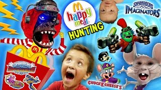 Download SHOCKING KIDS! McDonalds Happy Meal Toys Hunting, Skylanders Imaginators, Netflix & Chuck E. Cheese Video