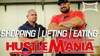 Download Shopping Lifting Eating with Brian Shaw | Hustlemania 22 Video