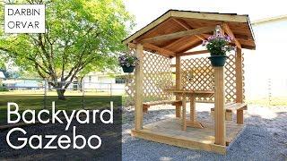 Download DIY Gazebo Build Part 2 Video