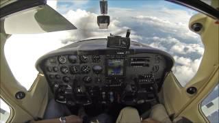 Download Cessna Skylane at 19,000ft - cockpit video - must see! Video
