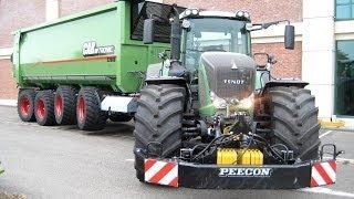Download FENDT Traktoren im Einsatz | Claas Jaguar 950 | Hawe Abschiebewagen | AgrartechnikHD Video