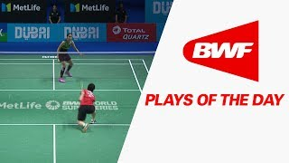Download Plays Of The Day | Badminton SF – Dubai World Superseries Finals 2017 Video