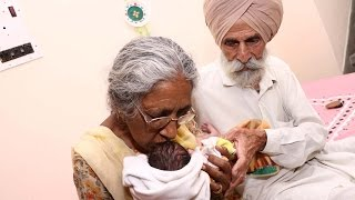 Download How Old?! Indian Woman In Her 70s Becomes First-Time Mother Video