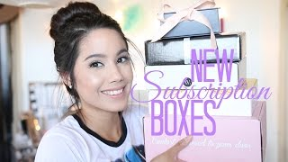 Download NEW SUBSCRIPTION BOXES | BOXYCHARM, BOOTAYBAG, PMS BOX, AND MORE | JUNE 2016 Video