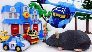 Download Giant Rat in The Brooms Town~! Robocar Poli, Rescue Your Friends Video