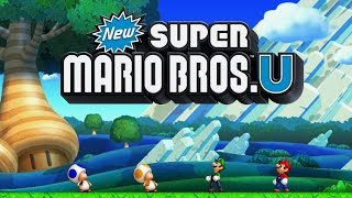 Download New Super Mario Bros. U Worlds 1 - 9 Full Game (100%) Video