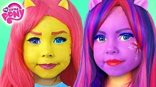 Download Kids Makeup My Little Pony with Colors Paints Alisa Play Dolls Equestria Girls MLP & DRESS UP Video