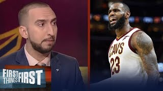 Download LeBron James or Michael Jordan: Nick and Cris discuss who is the real GOAT | FIRST THINGS FIRST Video