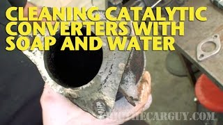 Download Cleaning Catalytic Converters With Soap and Water -EricTheCarGuy Video