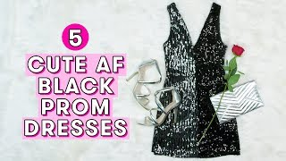 Download 5 Cutest Black Prom Dresses | Style Lab Video