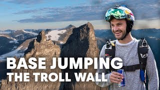 Download Wingsuit Flying Off The Troll Wall   Jokke's Adventures Part 1 Video