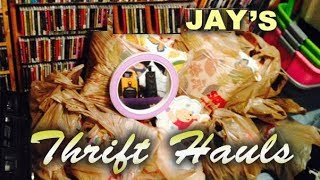 Download Thrifty Business Thrift Haul #56 Van Halen Robe, 88 Pounds From The Bins & a Chase Rice Flag Video
