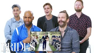 Download 'Queer Eye' Cast Reviews the Internet's Biggest Wedding Videos | Brides Video