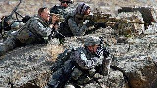 Download Navy Seals sniper engages Taliban with Barrett M107A1 50 cal rifle Video