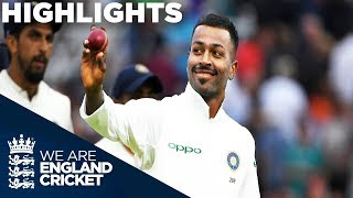 Download Pandya Stars As England Collapse | England v India 3rd Test Day 2 2018 - Highlights Video