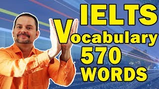 Download IELTS Vocabulary Mastery - 570 Words to Learn Video